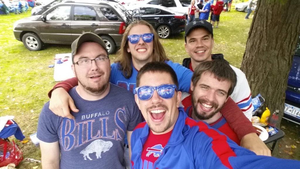 Buffalo Bills tailgate picture