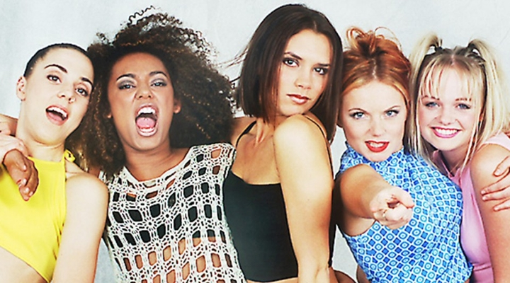 photo of Spice Girls - song Wannabe will play at wedding reception bouquet toss