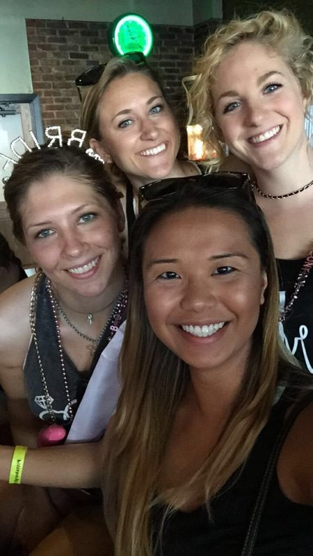 bachelorette and her friends